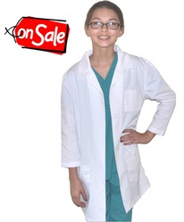 Kids Lab Coat Size 8/10