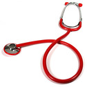 Kids Stethoscope Red