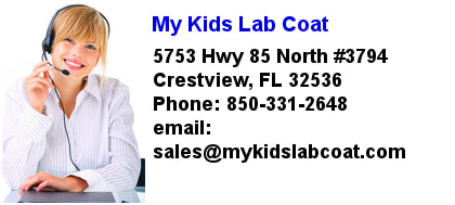 My Kids Lab Coat Location
